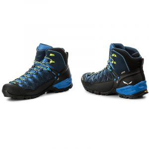 Sepatu Gunung Salewa Alp Trainer Mid GTX Goretex Original